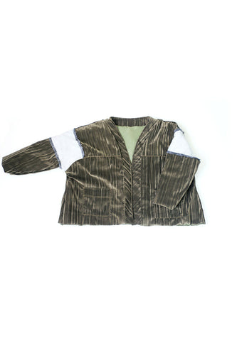 Patchwork Worker Jacket