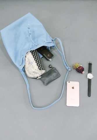 Bucket Bag - Sky Blue