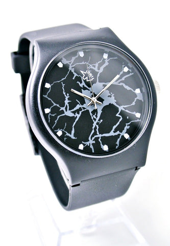 Marble Pettern Watch (Black)