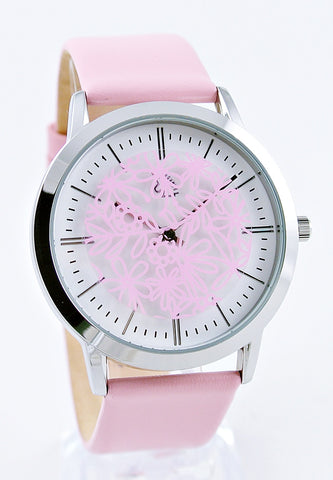 Rose Quartz - Swiveling Floral