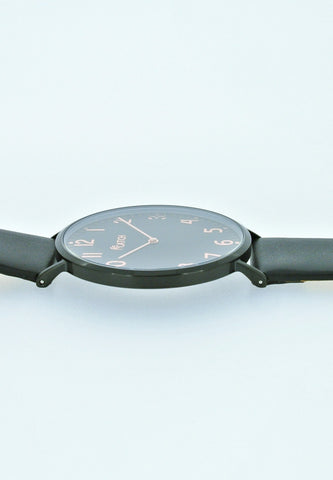 CATCH Simple Steel Watch (Black)