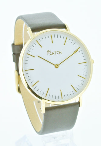 CATCH Simple Steel Watch (Gold)