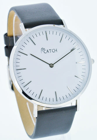 CATCH Simple Steel Watch (Silver)