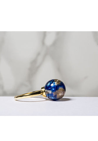 'Mercury' pearl ring