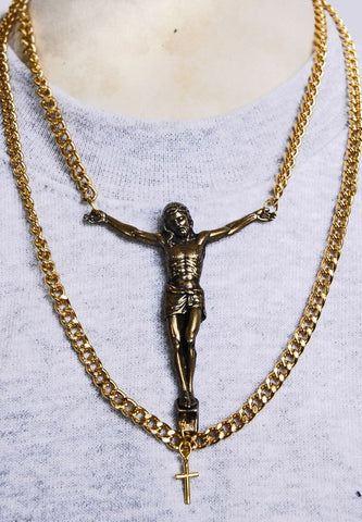 Christ Necklace (GOLD & SILVER)
