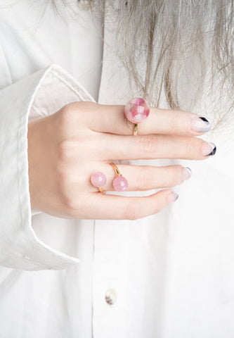 'Forgotten Candy' pearl ring