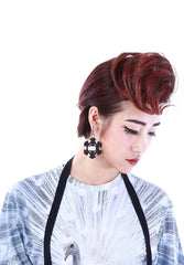 M.Y.O.B LIMITED 50x50 EARRINGS (STAR / BLACK)