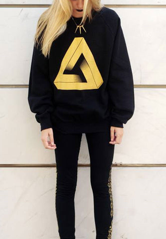 Penrose Gold Sweater