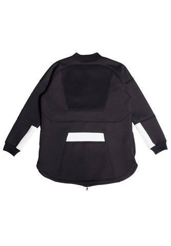 Neoprene Structure Bomber Black