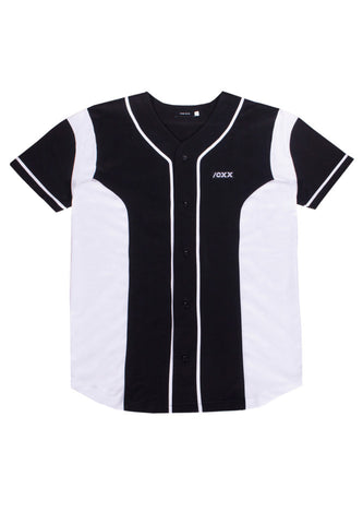 Structure Baseball Jersey Black