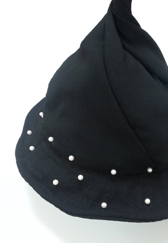 Witch Pearl Bucket -Black