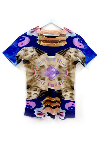 DIAMOND GIZA'S BURGER TEE
