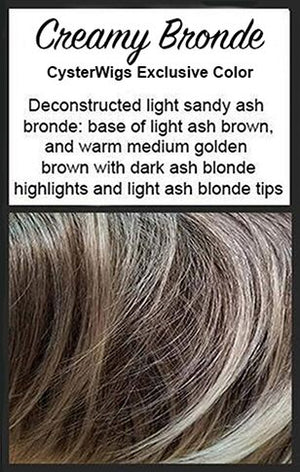 Creamy Bronde - CysterWigs
