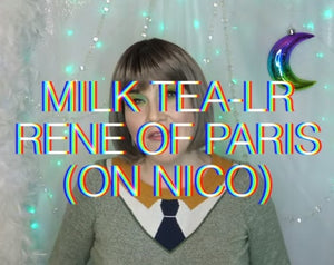 Transcript of Color Spotlight:  Milk Tea-LR by Rene of Paris , 20th May 2020