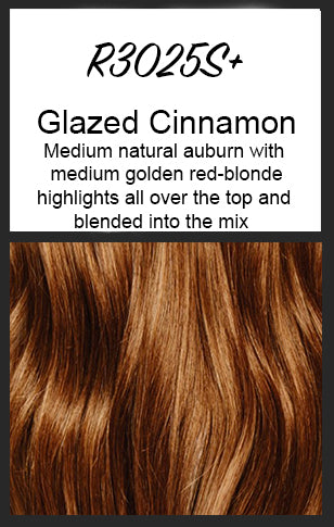 R3025S+ Glazed Cinnamon - Raquel Welch