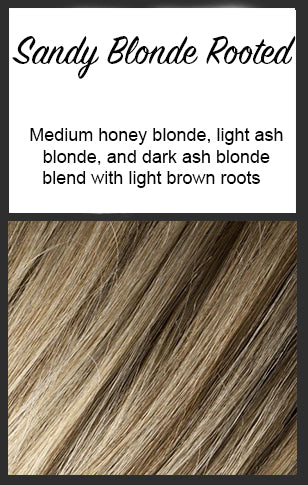 Sandy Blonde Rooted - Ellen Wille