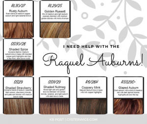I need help with the Raquel Auburns!