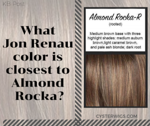 What Jon Renau color is closest to Almond Rocka?