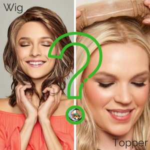How to determine whether you should buy a topper or a full wig by Julia