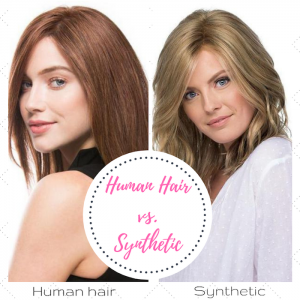 Human Hair Wigs Vs. Synthetic Hair Wigs