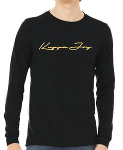 "Kuppa Joy ""Signature Series"" Long Sleeve - Black"