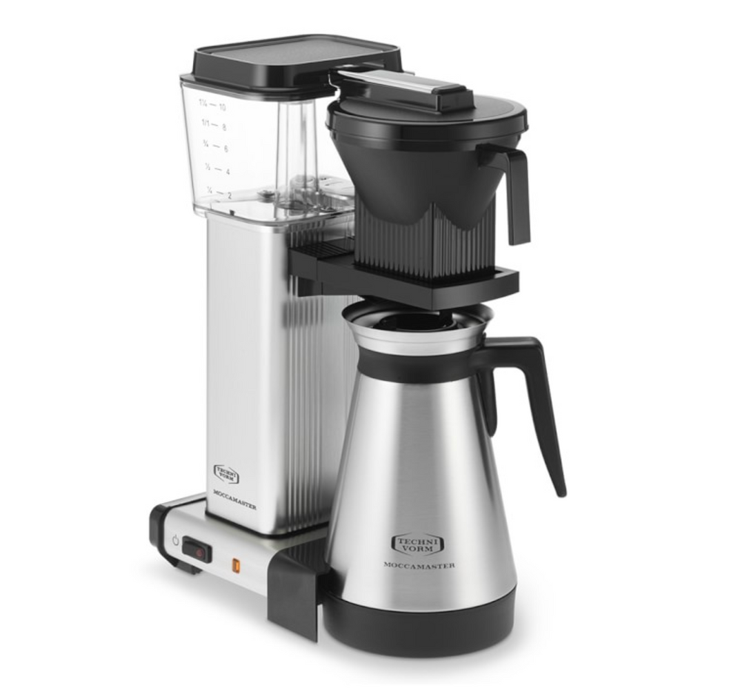 Moccamaster Thermal Coffeemaker KBGT Brushed Silver