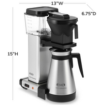 Load image into Gallery viewer, Moccamaster Thermal Coffeemaker KBGT Brushed Silver