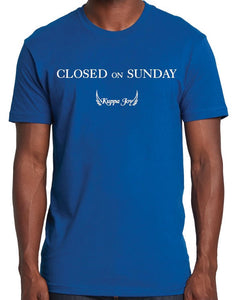 """Closed on Sunday"" T-Shirt"