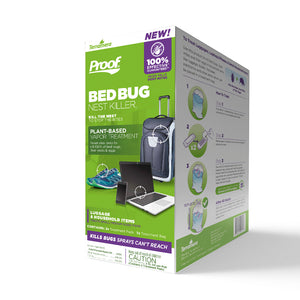 PROOF® Bed Bug Nest Killer₂ (Luggage & Household Items)