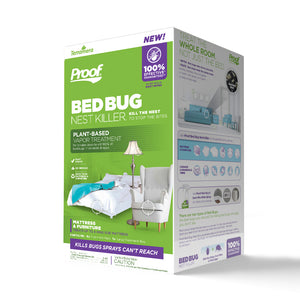 PROOF® Bed Bug Nest Killer₁ (Mattress & Furniture): 3D