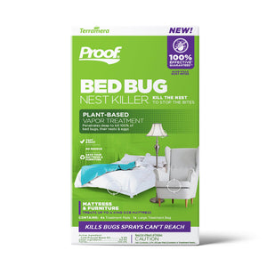 PROOF® Bed Bug Nest Killer₁ (Mattress & Furniture): Front