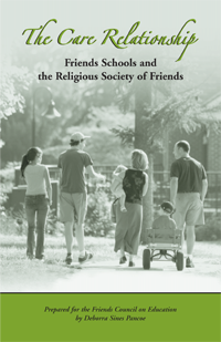 Care Relationships: Friends Schools and the Religious Society of Friends