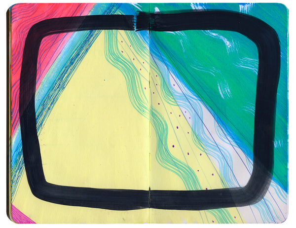 One of Mia's sketchbook pages from her Flickr.