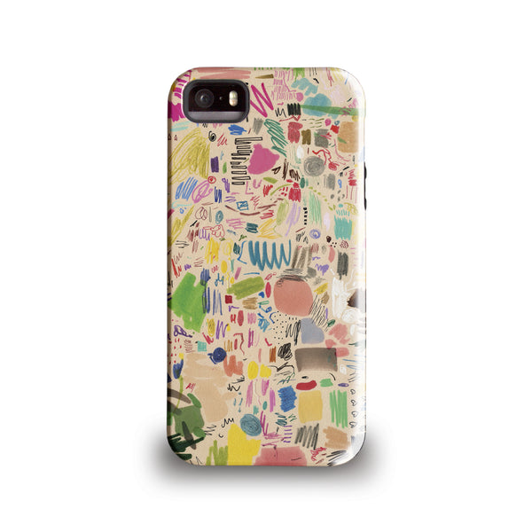 Mia Christoper 'Scribbles' Phone case