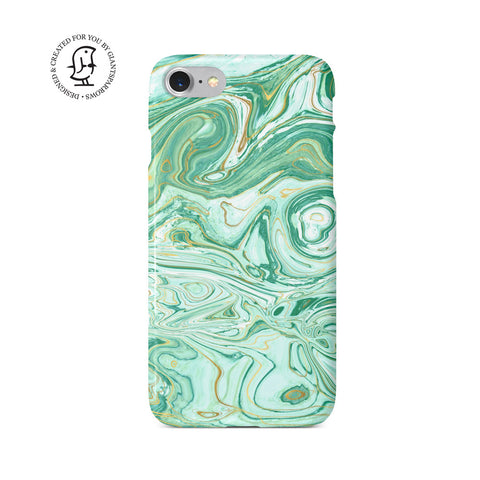 Agate Stone Green Design Case