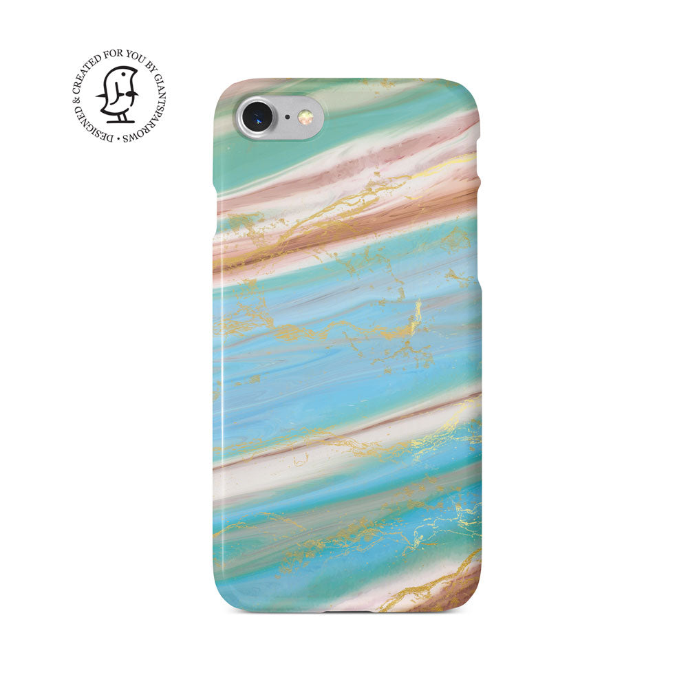 Agate Stone Blue/Green Design Case