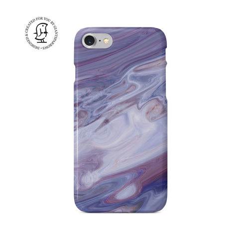Agate Stone Mauve/White Design Case