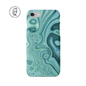 Agate Stone Green/Blue Design Case