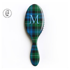 Lamont Clan - Monogram Design - Tartan Fabric Design - Scottish Gift