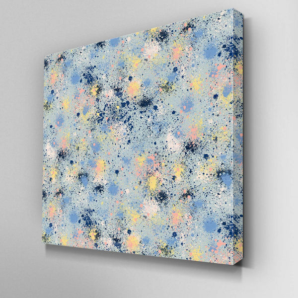 Ink Dust Paint Splatter Canvas Picture
