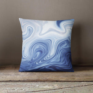 "Martina Pavlová Design Cushion - ""Blue Marble"""