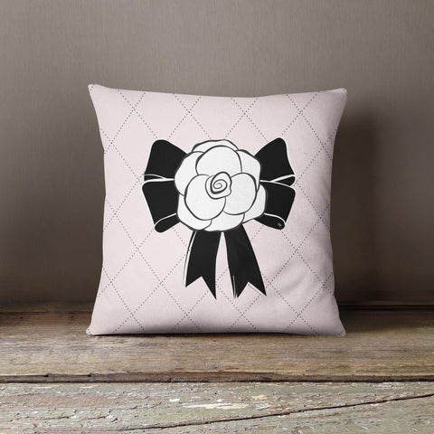 "Martina Pavlová Design Cushion - ""Flower"" Pink"