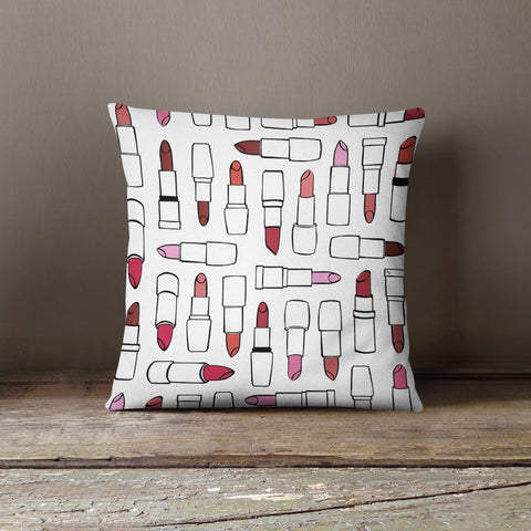 "Martina Pavlová Design Cushion - ""Lipstick"""