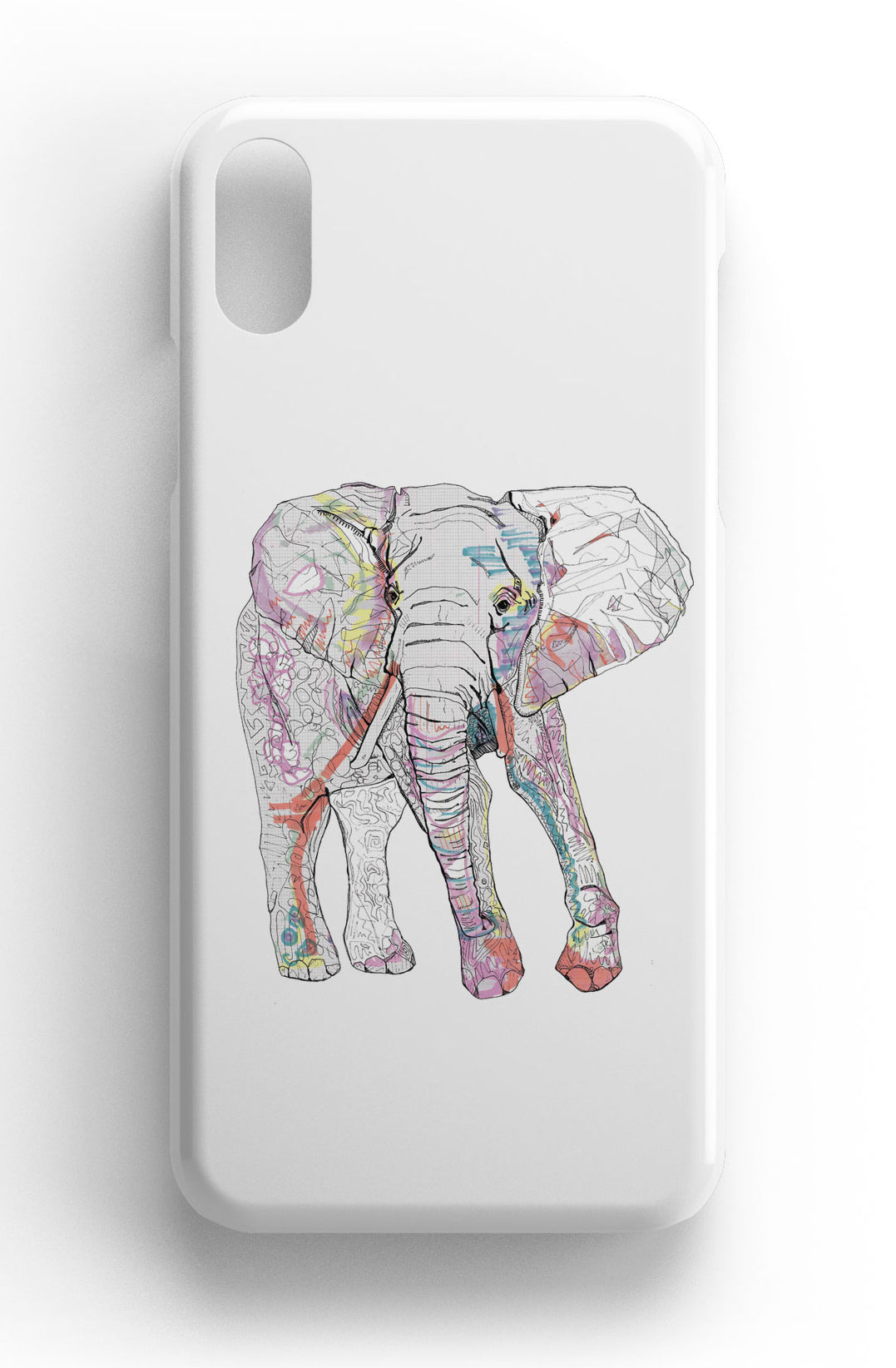 "Casey Rogers Illustrated Phone Case ""Elephant"""