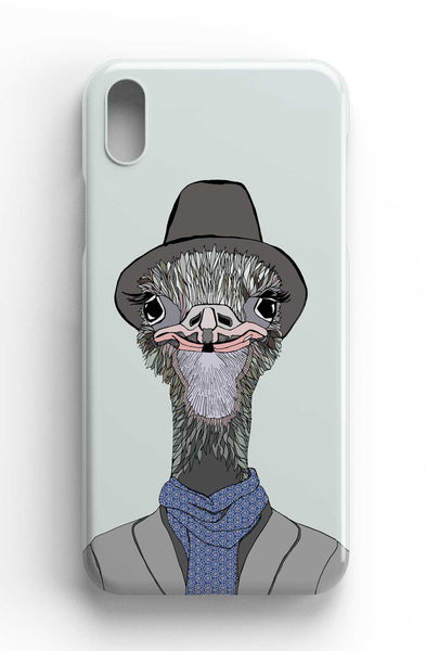 "Casey Rogers Illustrated Phone Case ""Emu"""