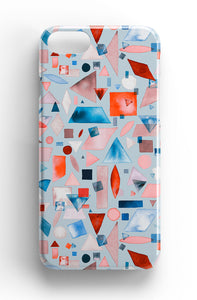 Ninola Design Geometric Shapes Watercolour Phone Case