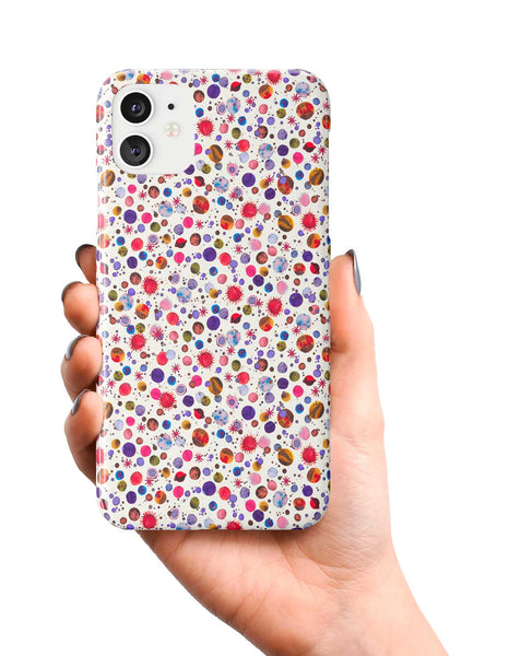 Ninola Design Galaxy Constellations Light Pink Phone Case