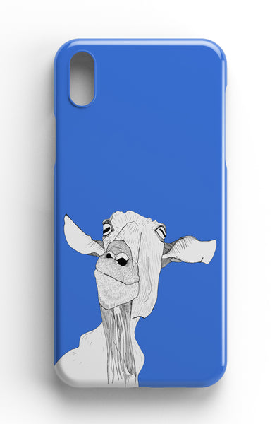 "Casey Rogers Illustrated Phone Case ""Cheeky Goat"""