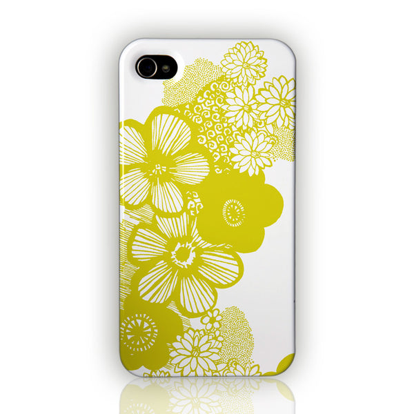 Dotty Flowers by Anja Jane for iPhone