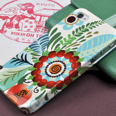 Folk Rosemaling by Anja Jane for iPhone 4/4S